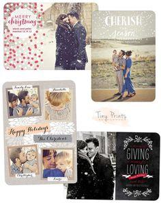 I like the idea of having xmas cards as postcards instead :)