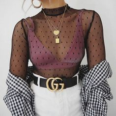 gucci belt - My Favourite Outfits - kleidung Gucci Fashion Show, Fashion Killa, Look Fashion, Winter Fashion, Wild Fashion, Club Fashion, Urban Fashion, Fashion News, Mode Chic