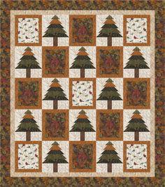 Pioneer Spirit Quilt Kit by Maywood Studio | Quilts | Pinterest : pine tree quilts - Adamdwight.com