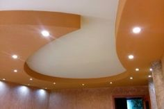 amazing shapes on ceiling in apartment