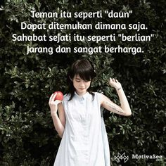 59 Ideas quotes indonesia sahabat so true Quotes Sahabat, People Quotes, Music Quotes, Happy Quotes, Life Quotes, Friend Quotes, Funny Pictures For Kids, Funny Quotes For Kids, Quotes For Him