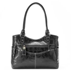 Rosetti Tip Top Satchel (£27) ❤ liked on Polyvore featuring bags, handbags, black, hand bags, man satchel bag, handbag purse, vegan purses and vegan satchel