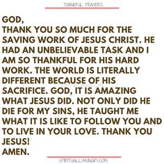 Here's a great batch of 30 thankful prayers for you. We are given so much, often times we focus on what we don't have or what we want, instead of being thankful for all that we have. These 30 short prayers will help you foster a thankful heart. Thankful Prayers, Prayers Of Gratitude, Short Prayers, Thankful Heart, Bible Prayers, Prayer Of Thanks, Prayer For Guidance, Faith Prayer, Power Of Prayer