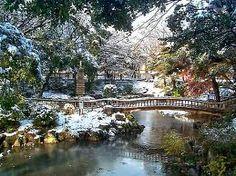 Higashi Temple garden, Nagoya, Japan.