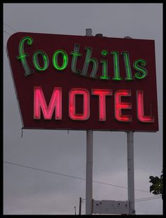 Foothills Motel by Dusty_73, via Flickr