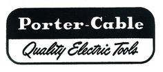 Electric Tools Porter Cable Tools, Tool Sheds, Old Tools, Weathered Wood, Stylish Men, Depression, Logo Design, Typography, Design Inspiration