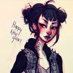 """whaojackie: """"Happy new year everyone! I have a ton of upcoming projects and releases plus a giant clearance sale coming soon! 2015 sounds pretty exciting  Here's Petra! #thesirenscomic """""""