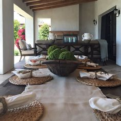 Outdoor Living Space | Custom Outdoor Furniture|  Coastal Meets Transitional - Kathy Ann Abell Interiors Outdoor Play, Outdoor Living, Coastal Homes, Outdoor Furniture, Outdoor Decor, Living Spaces, Ann, Patio, Interiors