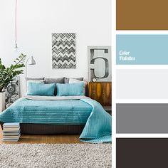 almost black, blue and brown, bright blue, color combination for winter, color of tree, color solution for winter, colors for interior, selection of flowers for a house, shades of gray, silver, turquoise, warm brown, warm shades of brown, woody color.
