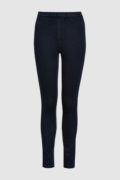 Buy Jersey Denim Leggings from the Next UK online shop Clothes 2019, Casual Clothes, Casual Outfits, Denim Leggings, Next Uk, Uk Online, Black Jeans, Skinny Jeans, Cotton