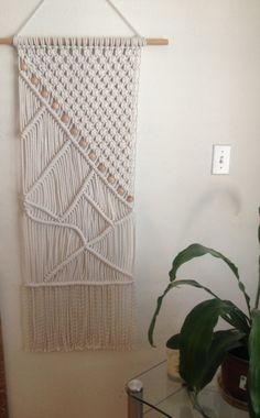 Macrame Wall Hanging, Macrame Home Decor