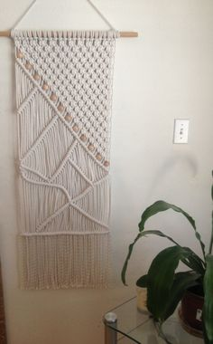 Macrame Wall Hanging Macrame Home Decor от BiziKnitting4You, $85.00