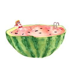 Watermelon Drawing | Watermelon Drawing Tumblr Watermelon, drawing, art,