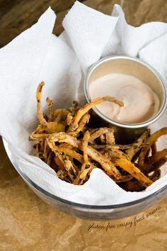 Gluten Free Crispy Fried Onions - Gluten Free on a Shoestring