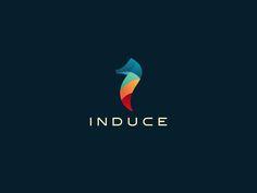 Induce Media on Behance logo design
