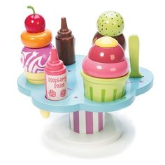 Le Toy Van : Carlo's Gelato (Wooden Ice Cream Set)
