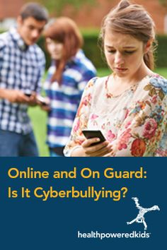 Online and On Guard: Is It Cyberbullying? Staying Safe Online, Stress Management, Young People, Healthy Choices, Bullying, Health And Wellness, Shit Happens, Learning, Fun