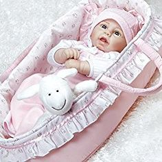 "21 inch Paradise Galleries Real Life Reborn Baby Girl Doll /""Precious Peanut/"""