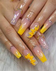 makeup nails nail care summer nails nails nail tutorials nails diy essie n Nail Art Designs, Acrylic Nail Designs, Nails Design, 3d Nail Art, 3d Nails, Coffin Nails Long, Long Nails, Nails Short, Cute Acrylic Nails