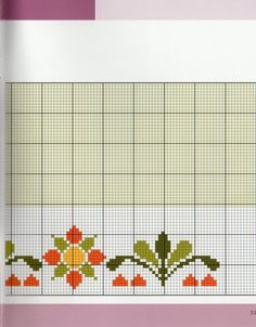 123 Cross Stitch, Cross Stitch Flowers, Cross Stitch Embroidery, Thread Work, Diy And Crafts, Alphabet, Projects To Try, Chart, Floral