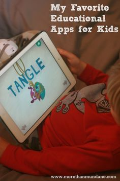 My favorite educational apps for kids
