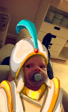 This dad transforms his son into your favorite characters using Snapchat art
