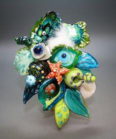 by CreARTelier - Lampwork Beads by Jacqueline Keller, via Flickr