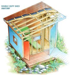 How to Build a Shed and Playhouse - Handyman Club - Scout