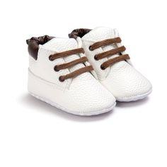 Toldder Baby Mädchen Schuhe Leder Slip on Weiche Sohlen Stiefel Schuhe Erste Wanderer 0-18 Mt