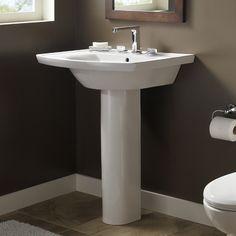 Pedestal Sink With Backsplash Small Pedestal Sink In Prepare