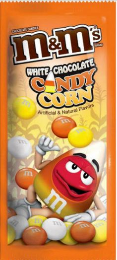 Mars Chocolate has launched M&Ms White Chocolate Candy Corn, which features orange, yellow and white M&Ms. Mars Chocolate, Chocolate Bonbon, White Chocolate Candy, Love Chocolate, Chocolate Candies, Bonbon Halloween, Fete Halloween, Halloween Candy, M M Candy