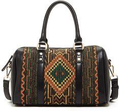 Geneva fabric satchel