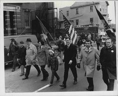 Dorchester Day Parade, 1970s.  Ray Flynn.