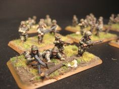 Flames of War, 15mm 101st Airborne, Machine gun team 1