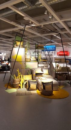 Design District 2019 – the best design trade in the Netherlands – is right b… - Home & DIY Ikea Showroom, Showroom Interior Design, Furniture Showroom, Showroom Ideas, Ikea Furniture, Furniture Makeover, Furniture Design, Visual Merchandising, Display Design