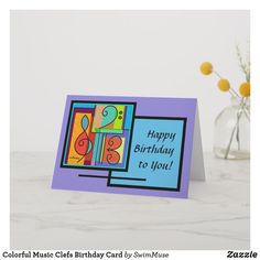 Celebrate someone's day of birth with Music birthday cards & greeting cards from Zazzle! Perfect for friends & family to wish them a happy birthday on their special day. Music Greeting Cards, Custom Greeting Cards, Birthday Cards, Happy Birthday, Thoughtful Gifts, Smudging, Paper Texture, Colorful, Prints