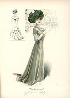 Gracieuse. Geïllustreerde Aglaja, 1908, aflevering 12, pagina 192/3