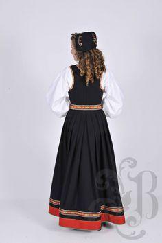 Vestfoldbunad 1932 Tulle, Traditional, Costumes, Skirts, Fashion, Moda, Dress Up Clothes, La Mode, Skirt
