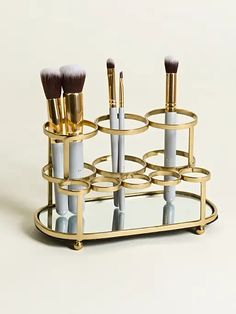 Make Up Palette, Led Makeup Mirror, Makeup Mirror With Lights, Makeup Brush Holders, Lipstick Holder, Makeup Brush Storage, Highlighter Makeup, Contour Makeup, Eye Makeup