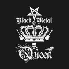 You are a trve Queen of Black Metal? Then this might  be something for you. #blackmetalgirl