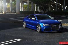 Audi RS5 on Vossen Wheels