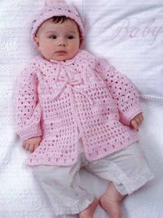 Picture of Crochet Hats & Wraps for Baby