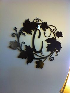 Hey, I found this really awesome Etsy listing at https://www.etsy.com/listing/191800870/decorative-initial-surrounded-by-ivy