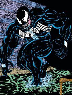 Venom (Edward Brock) | art by Todd McFarlane