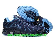 separation shoes c4829 65bd6 Nike Air Max Tn Requin Tuned 2014 Chaussures Basket Pour Homme Bleu