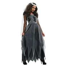 [Halloween Costumes Ideas] Women's Zombie Ghost Bride Costume Veil long Gothic Halloween Corpse Countess Graveyard Bride Costume Dress Outfits,Large -- Visit the image link more details. (This is an affiliate link) Zombie Bride Halloween Costume, Zombie Bride Costume, Halloween Noir, Halloween Fancy Dress, Halloween Outfits, Gothic Halloween, Halloween Party, Halloween Vampire, Party