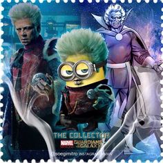 Guardians of The Galaxy Minions -   The Collector