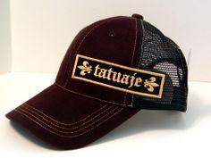 *NWT* Brown TATUAJE Cigars Baseball CAP/HAT Twill/Mesh ADJUSTABLE Pete Johnson