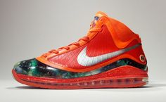 "Nike Air Max LeBron VII ""Inside/Out Big Bang"" Custom"