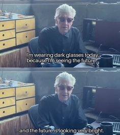 David Lynch could be an optimistic optometrist. Cinema Quotes, Movie Quotes, David Lynch Quotes, David Lynch Movies, Film Inspiration, Quiz, Know Your Meme, Jim Morrison, Wholesome Memes